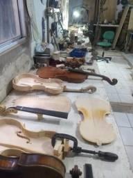 Construção e restauração de instrumentos musicais