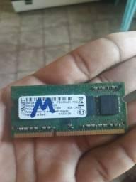 Memória Notebook 4g DDR3