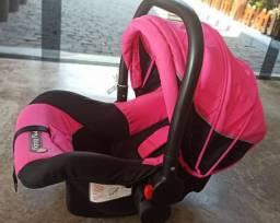 Cadeirinha Bebê conforto bebê automóvel até 13 kg cor rosa