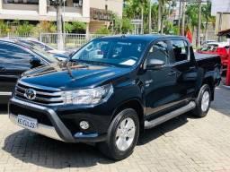 Toyota Hilux CD sr 2.7 flex 2018 único dono , 25.000 km