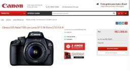 Câmera Canon EOS Rebel T100