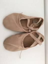 Sapatilha de Ballet Só Dança meia ponta 34
