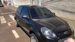 Ford Ka 1.0 2013, Flex, C/ Ar condicionado - Preto Onix - Manual e chave reserva