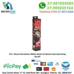 910 - Mouse Pad Gamer Médio 42x32 Cm Borda Costurada Knup Kp-s07