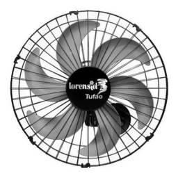 Ventilador de Parede Tufão Loren Sid 50cm Novo/Garantia