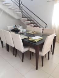 mesa com 8cadeiras