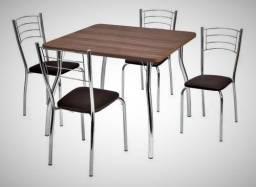 Mesa Catia 4 cadeiras Renata Medidas: DEZ76