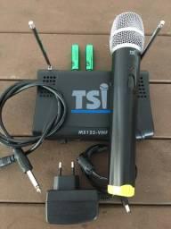 Microfone sem fio TSI