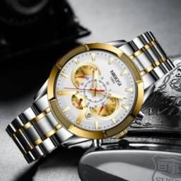 Relógio Nibosi Original 100% Funcional