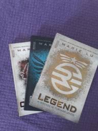 Livros trilogia Legend
