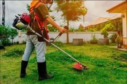 Roçadeira! mato, grama, jardim, terreno, calçada, quintal