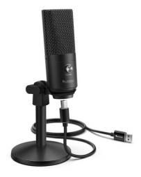 Microfone Fifine K670 Usb Preto - Novo e lacrado