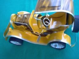 Calhambeque Mini Artesanal Colecionador reliquia oferta miniatura Amarelo