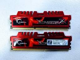 Kit Memória Ripjaws 8GB F3-17000CL11D-4GBXL ddr3 (2x 4GB)