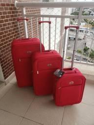 Mala de Viagem ( conjunto 3 unidades)