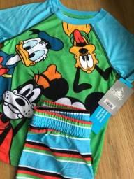 Pijama Mickey Mouse Disney Infantil Meninos