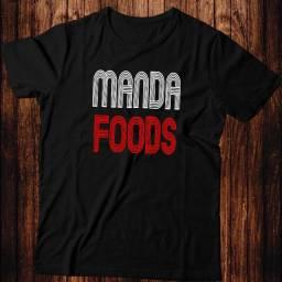 Camiseta - Manda Foods- Artgk