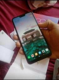 Xiaomi mi 8 lite azul aurora leia o anuncio