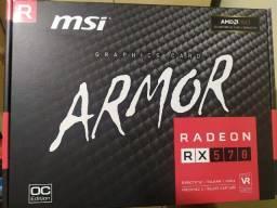 Rx 570 4gb msi Armor OC edition