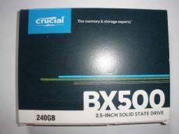Ssd Crucial 240gb Bx500, novo, lacrado.