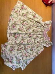 Vestido Casinha de Abelha 1 ano