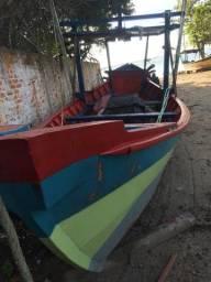 Barco de pesca licença em dia