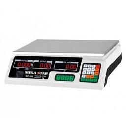 Balança Digital Megastar 40kg 110v/220v Nova Com Garantia