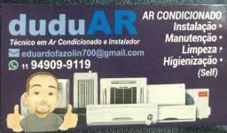 Título do anúncio: DuduAr - tudo em ar condicionado