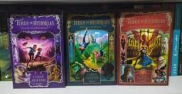 Livros 1, 2 e 3 da série Terra de histórias