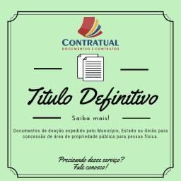 CONTRATUAL: Providencie agora deu TÍTULO DEFINITIVO
