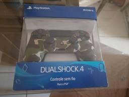 Controle dualshock com nota