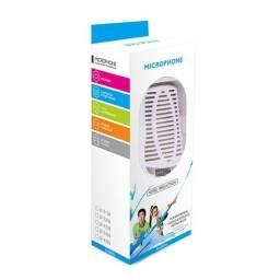 Microfone Condensador Branco para Computador só R$