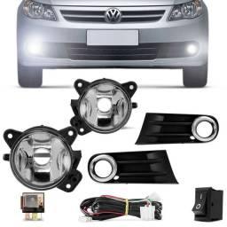 Kit Farol de Milha Gol Voyage Saveiro G5 Volkswagen 2009 a 2013