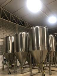 Tanque Fermentador 2 mil litros Chopp Cervejaria