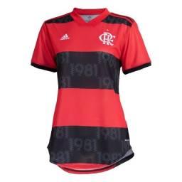 Camisa Feminina Original Flamengo Adidas I 2021
