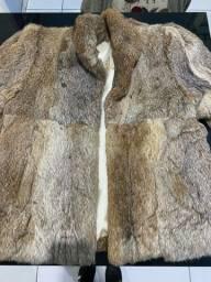 Casaco de pele de coelho Peles Bariloche