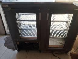 Balcão refrigerador de Inox