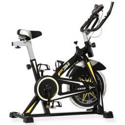 Título do anúncio: Bicicleta de spinning Kikos F3i - Nova + Nota fiscal e garantia