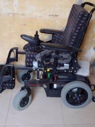 Cadeira elétrica com duas baterias