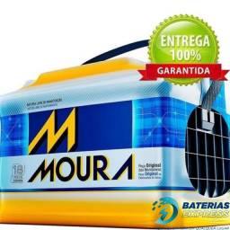 Baterias MOURA para carro e moto