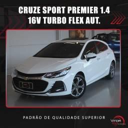 Título do anúncio: GM - Chevrolet CRUZE Premier 1.4 16V TB Flex Aut. 2020 Flex