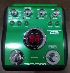 Pedaleira Zoom A2 p Violao usado (Mixer Instrumentos Musicais)