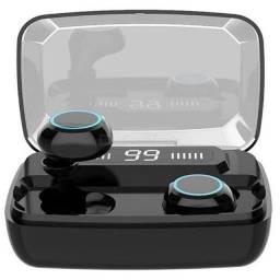 Vendo fones de ouvido sem fio Bluetooth 5.0 verdadeiro,wireless IPX7, 110 horas de bateria