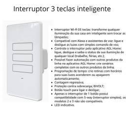 Interruptor 3 teclas inteligente .