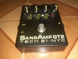 Sansamp gt2 usado em perfeito estado.