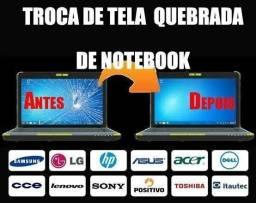 Telas para notebook com garantia 90 dias