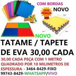 piso de eva / tatame / tapete / placas com bordas