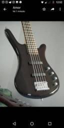 Título do anúncio: Warwick 5c covette rock bass