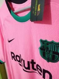 Barcelona Rosa modelo jogador 2022