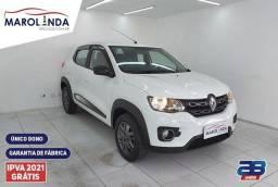 Título do anúncio: Renault Kwid Intense 1.0 ((Garantia de Fábrica)) Manual-2021